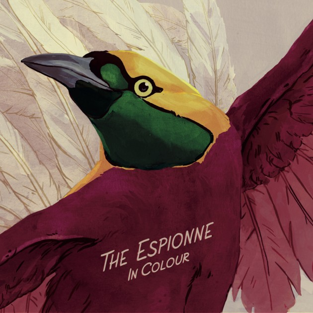 THE ESPIONNE - In Colour - Cover Front