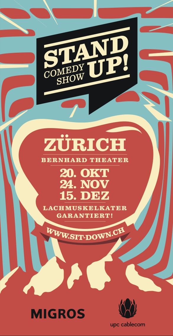 Flyer Stand Up Herbst